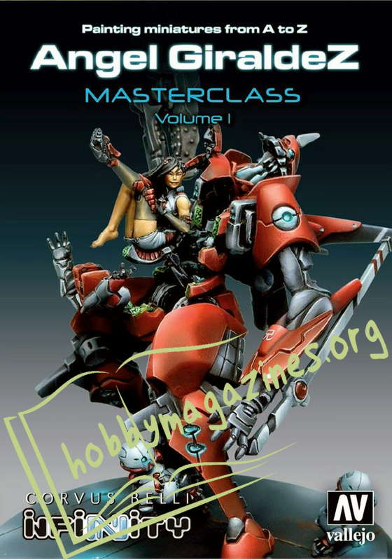 Painting miniatures from Ato Z Masterclass Volume 1