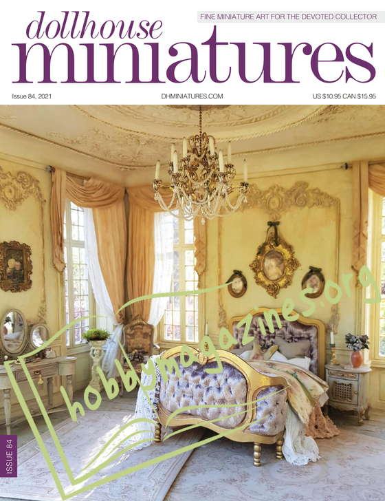Dollhouse Miniatures Issue 84, 2021