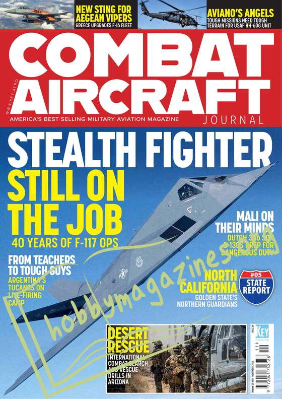 Combat Aircraft - November 2021