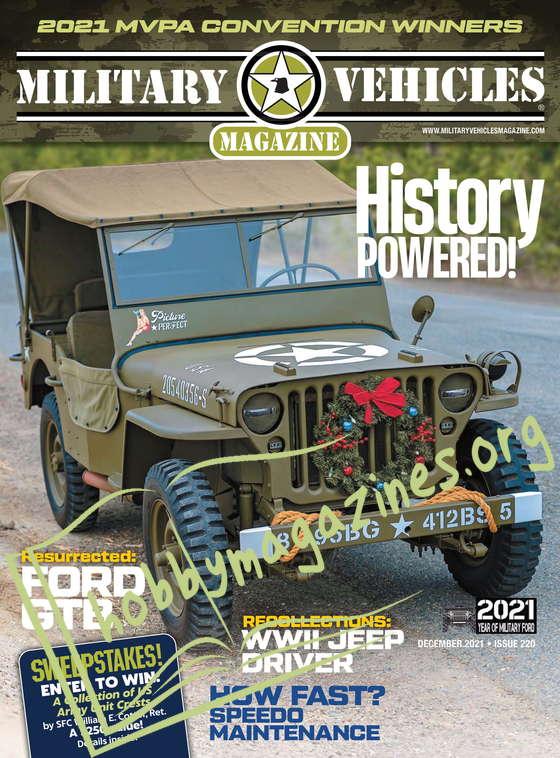 Military Vehicles Magazine - December 2021