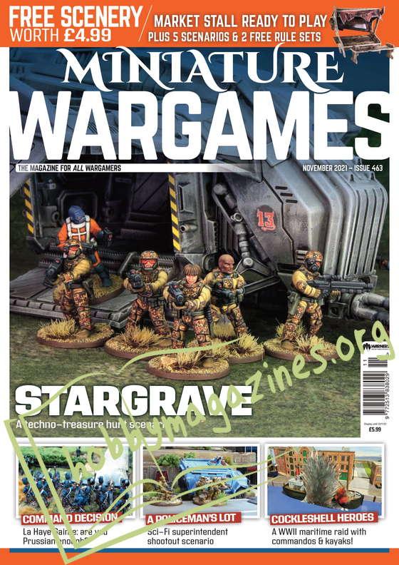 Miniature Wargames – November 2021