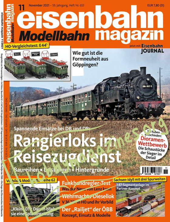 Eisenbahn Magazin - November 2021