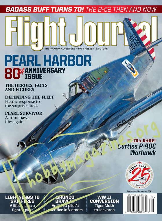 Flight Journal - November/December 2021
